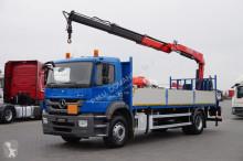camión Fassi MERCEDES-BENZ - AXOR / 1829 / E 5 / SKRZYNIOWY + HDS / F 155