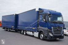 camion nc MERCEDES-BENZ - ACTROS / 2545 / E 6 / ZESTAW PRZEJAZDOWY 120 M3 + remorque