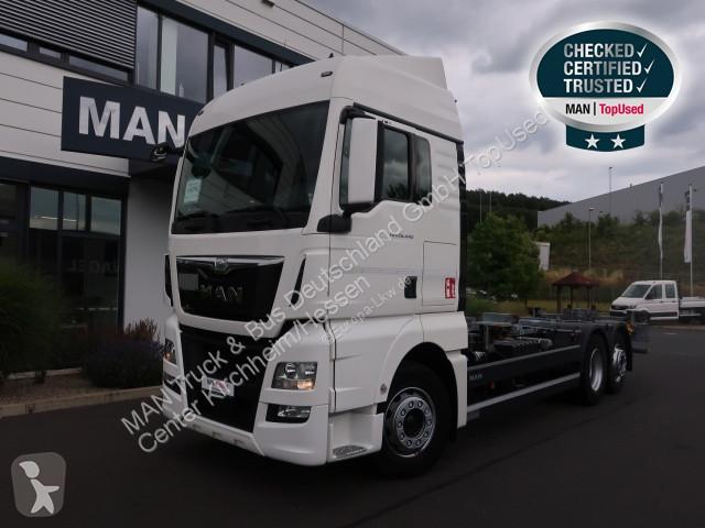 Used MAN TGX trucks chassis