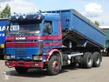 camion Scania 143 V8 450 6x2 KIPPER / BLATTGEFEDERT