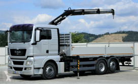 camion MAN TGX 26.440 Pritsche 6,90m+Kran *6x2*Topzustand!