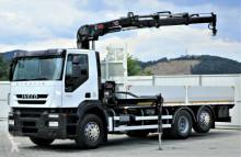 camion Iveco Stralis 360 Pritsche 6,40m + Kran *6x2*