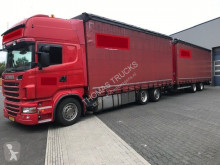 Scania tautliner trailer truck