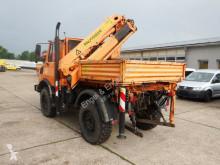 camion Unimog U 1200 - 424 KRAN Palfinger PK 7000 A 7,2m Seilw