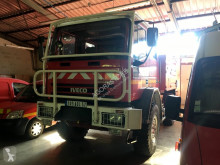 camion camion de pompieri cu remorca second-hand