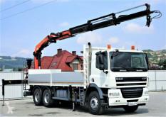 DAF 85.410 Pritsche 6,80m+Kran *6x4*Topzustand! truck