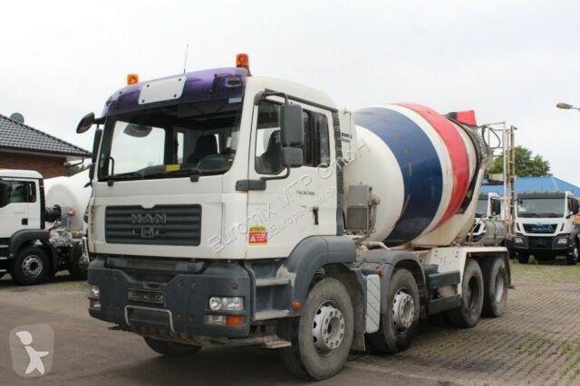 Voir les photos Camion MAN TGA 32400 8X4 9m³