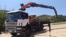 camião Scania CAMION GRUA SCANIA 310 6X2 2000 PALFINGER PK 44002 2008