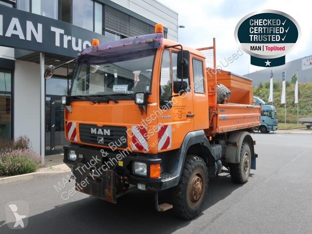 View images MAN 10.180 4X4 BB Meilr inkl. Salzstreuer truck