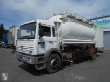 camion Renault G270 - cement tank/citerne ciment - lames/steel - manual