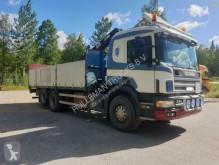 vrachtwagen platte bak boorden Scania