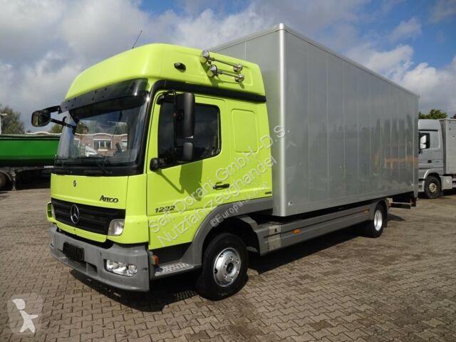 Voir les photos Camion Mercedes 1222 Koffer mit L.B.W