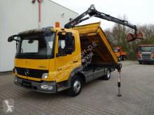 camion Mercedes Atego 816 MEILLER Kipper mit HIAB055 Greifer