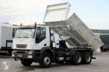 camion Iveco TRAKKER 380/6X4/2 SIDED TIPPER/BORTMATIC/ANALOG