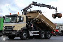 camion Mercedes AXOR 2633/2 SIDED TIPPER+CRANE TEREX 120/ RADIO