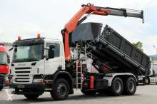 camión Scania P 380/6X4/2 SIDED TIPPER/CRANE PALFINGER PK15500