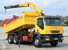 Iveco Trakker 350 Kipper 5,10m + Kran *6x4 Topzustand! truck