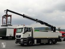 camion MAN TGS 26.360 /6X2/ CRANE HIAB 166 / SADDLE /