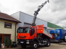 Hiab IVECO - TRAKKER 360 EEV 4x4 *2011* TIPPER + 144 HI DUO 10m-1300kg truck