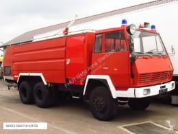 camion Steyr - 1490 6x6 ROSENBAUER FIRE TRUCK 9000+4000 L TANK *9667km*NEW