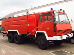 camião Steyr - 1490 6x6 ROSENBAUER FIRE TRUCK 9000+4000 L TANK *9667km*NEW