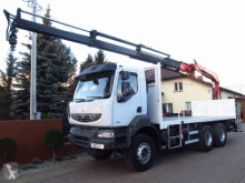 camion plateau ridelles Fassi