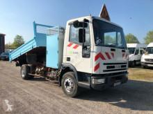 camion Iveco 85E15 KIPPER mit AUTOKRAN