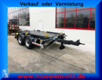 ciężarówka Möslein 3 14 t Tandem- Anhänger mit geschlossenen Boden