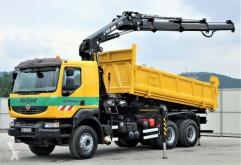 camion Renault Kerax 410 DXI Kipper 5,20m+HIAB 288*6x4!