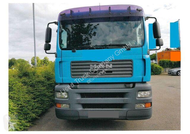 View images MAN TGA 18.360 Baustoff/Kran/ATLAS-TEREX 105.2 truck