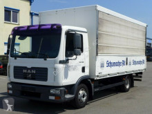 MAN beverage delivery box truck
