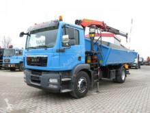 ciężarówka MAN TG-M 18.290 K 4x2 2-Achs Kipper Kran 13m/t, Grei