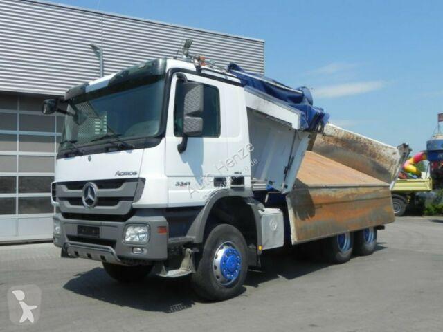 Voir les photos Camion Mercedes Actros 3341 6x6 3-Achs Allradkipper Bordmatik
