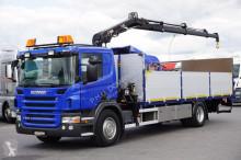 camion Hiab SCANIA - P270 / SKRZYNIOWY + HDS / 088 / WINDA