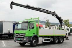 camion Mercedes ACTROS 2636 / 6x4 /CRANE HIAB 144 / RADIO