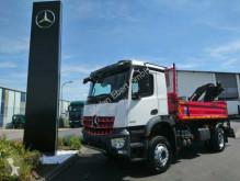 camion Mercedes Arocs 1833 KK 4x2 Kipper/Heckkran 1.900km/13h