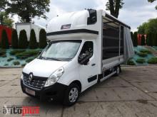 ciężarówka Renault MASTERPLANDEKA 10 PALET KLIMA WEBASTO TEMPOMAT PNEUMATYKA 165KM