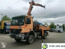 ciężarówka Mercedes 1832 ACTROS 4x4 ATLAS 162.5 Kran Cran Kipper