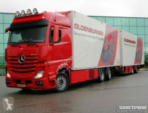 autotreno nc MERCEDES-BENZ - ACTROS 2748 EURO 6 THERMO KING TAIL LIFT ATP FRC + remorque