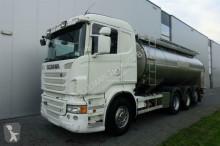 camión Scania R480 8X4 STEERING AXLE MILK TANK EURO 5 RETARDER