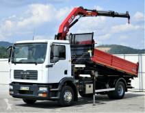 camião MAN TGM 15.240 Dreiseitenkipper 4,10m + Kran!!