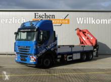 camion Iveco ST 500 Stralis 6x4, MKG HLK 541 HP Kran