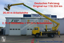 camion MAN Wumag WT 250 Arbeitsbühne 25m seitl. Auslage 16m