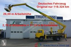 camión MAN Wumag WT 250 Arbeitsbühne 25m seitl. Auslage 16m