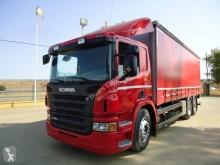 камион шпригли и брезент Scania