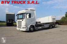 camion Scania R 380 MOTRICE 3 ASSI PORTACASSE MOBILI DA 9,60