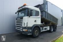 camion Scania R124.400 6X2 DUMPER MANUAL FULL STEEL