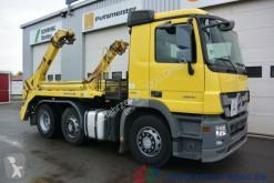 camion Mercedes Actros 2841 Meiller Tele 3 Fanghaken AHK Klima
