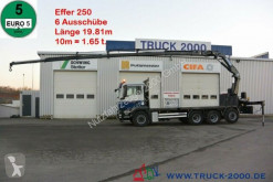 camion MAN TGS 35.400 8x4 Effer 250 6S 19.81m / 10m = 1.65t