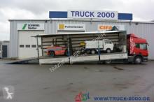 Scania P P 340 und Gföllner 1-Achs Auflieger Komplettzug truck
